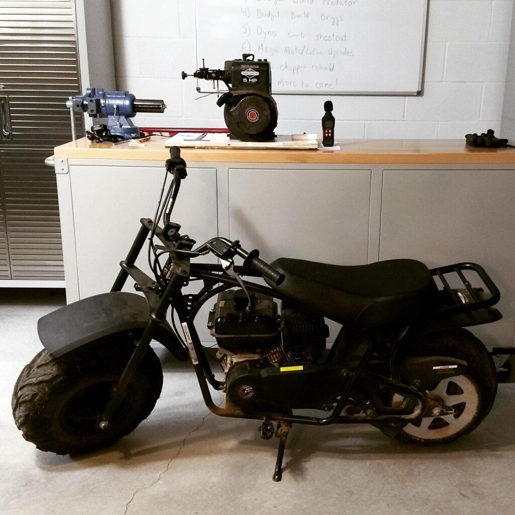 mega moto mini bike