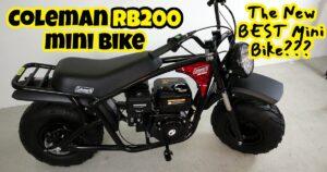 Coleman RB200 Mini Bike performance