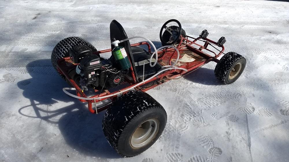 Propane Go Kart – faster than gasoline!