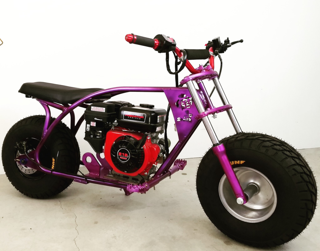 homemade mini bike